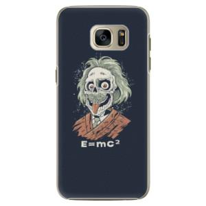 Plastové pouzdro iSaprio Einstein 01 na mobil Samsung Galaxy S7