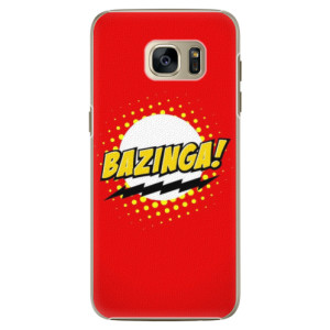 Plastové pouzdro iSaprio Bazinga 01 na mobil Samsung Galaxy S7