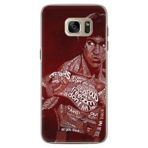 Plastové pouzdro iSaprio Bruce Lee na mobil Samsung Galaxy S7