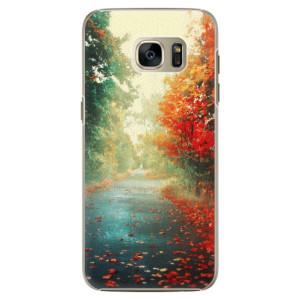 Plastové pouzdro iSaprio Autumn 03 na mobil Samsung Galaxy S7