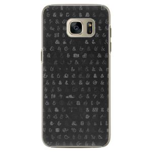 Plastové pouzdro iSaprio Ampersand 01 na mobil Samsung Galaxy S7