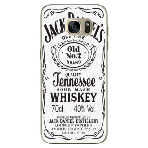 Plastové pouzdro iSaprio Jack White na mobil Samsung Galaxy S7 (Plastový obal, kryt, pouzdro iSaprio Jack White na mobilní telefon Samsung Galaxy S7)