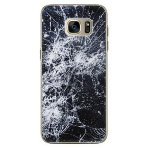 Plastové pouzdro iSaprio Cracked na mobil Samsung Galaxy S7