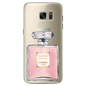 Plastové pouzdro iSaprio Chanel Rose na mobil Samsung Galaxy S7