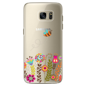 Plastové pouzdro iSaprio Bee 01 na mobil Samsung Galaxy S7