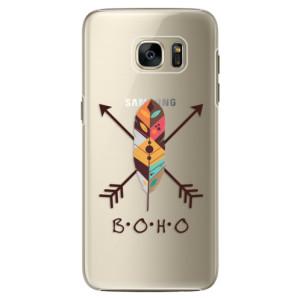 Plastové pouzdro iSaprio BOHO na mobil Samsung Galaxy S7