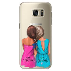 Plastové pouzdro iSaprio Best Friends na mobil Samsung Galaxy S7