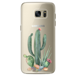 Plastové pouzdro iSaprio Cacti 02 na mobil Samsung Galaxy S7