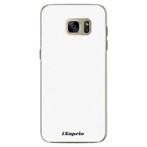 Plastové pouzdro iSaprio 4Pure bílé na mobil Samsung Galaxy S7