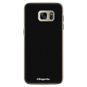 Plastové pouzdro iSaprio 4Pure černé na mobil Samsung Galaxy S7