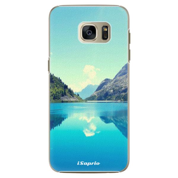Plastové pouzdro iSaprio Lake 01 na mobil Samsung Galaxy S7 Edge (Plastový obal, kryt, pouzdro iSaprio Lake 01 na mobilní telefon Samsung Galaxy S7 Edge)