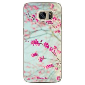 Plastové pouzdro iSaprio Blossom 01 na mobil Samsung Galaxy S7 Edge