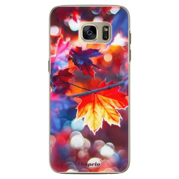 Plastové pouzdro iSaprio Autumn Leaves 02 na mobil Samsung Galaxy S7 Edge (Plastový obal, kryt, pouzdro iSaprio Autumn Leaves 02 na mobilní telefon Samsung Galaxy S7 Edge)