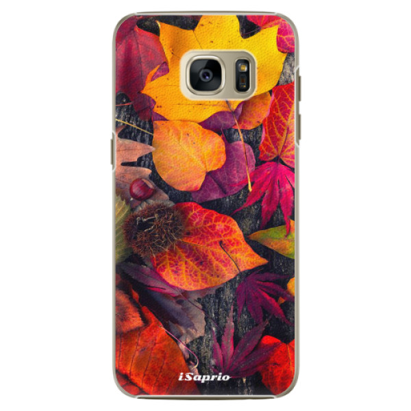 Plastové pouzdro iSaprio Autumn Leaves 03 na mobil Samsung Galaxy S7 Edge (Plastový obal, kryt, pouzdro iSaprio Autumn Leaves 03 na mobilní telefon Samsung Galaxy S7 Edge)