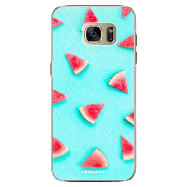 Plastové pouzdro iSaprio Melon Patern 10 na mobil Samsung Galaxy S7 Edge (Plastový obal, kryt, pouzdro iSaprio Melon Patern 10 na mobilní telefon Samsung Galaxy S7 Edge)