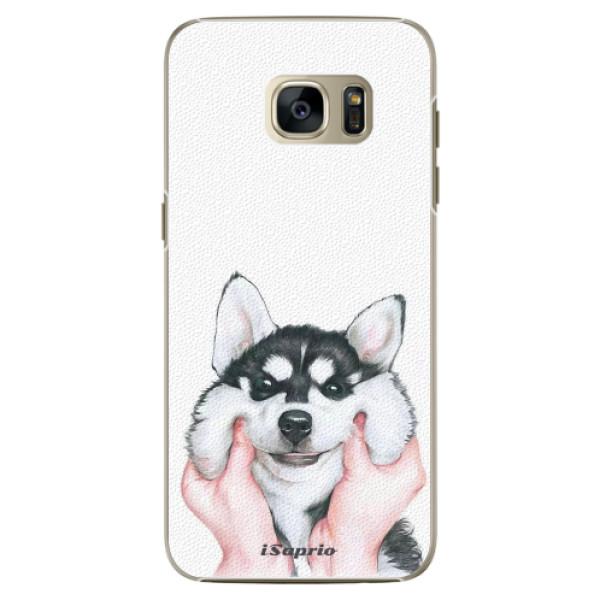 Plastové pouzdro iSaprio Malamute 01 na mobil Samsung Galaxy S7 Edge (Plastový obal, kryt, pouzdro iSaprio Malamute 01 na mobilní telefon Samsung Galaxy S7 Edge)