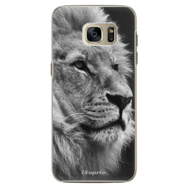 Plastové pouzdro iSaprio Lion 10 na mobil Samsung Galaxy S7 Edge (Plastový obal, kryt, pouzdro iSaprio Lion 10 na mobilní telefon Samsung Galaxy S7 Edge)
