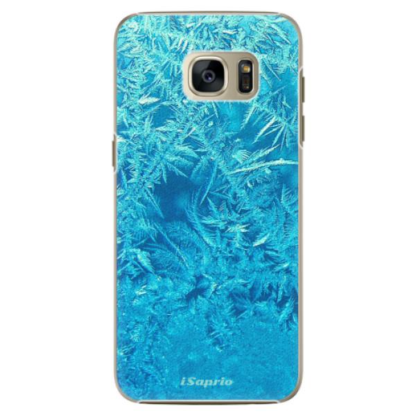 Plastové pouzdro iSaprio Ice 01 na mobil Samsung Galaxy S7 Edge (Plastový obal, kryt, pouzdro iSaprio Ice 01 na mobilní telefon Samsung Galaxy S7 Edge)