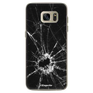 Plastové pouzdro iSaprio Broken Glass 10 na mobil Samsung Galaxy S7 Edge