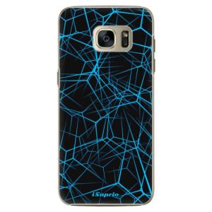 Plastové pouzdro iSaprio Abstract Outlines 12 na mobil Samsung Galaxy S7 Edge