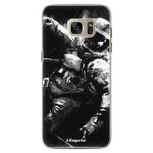 Plastové pouzdro iSaprio Astronaut 02 na mobil Samsung Galaxy S7 Edge