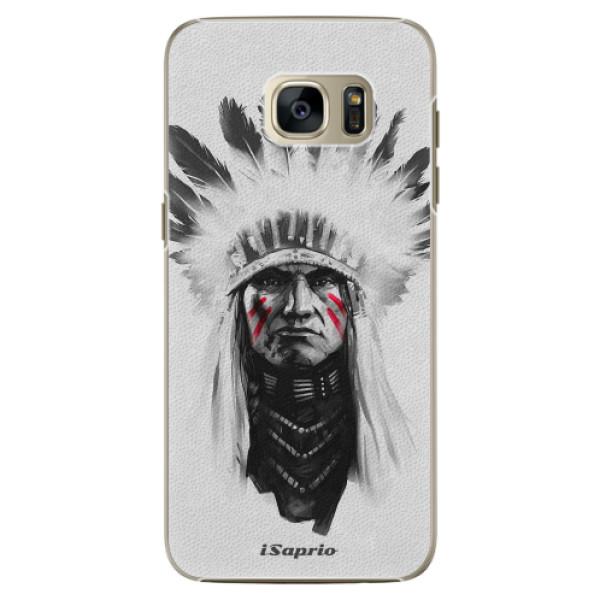 Plastové pouzdro iSaprio Indian 01 na mobil Samsung Galaxy S7 Edge (Plastový obal, kryt, pouzdro iSaprio Indian 01 na mobilní telefon Samsung Galaxy S7 Edge)