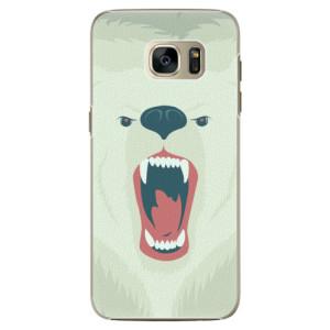 Plastové pouzdro iSaprio Angry Bear na mobil Samsung Galaxy S7 Edge