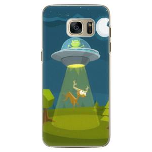 Plastové pouzdro iSaprio Alien 01 na mobil Samsung Galaxy S7 Edge