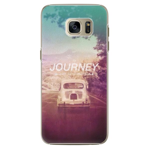 Plastové pouzdro iSaprio Journey na mobil Samsung Galaxy S7 Edge (Plastový obal, kryt, pouzdro iSaprio Journey na mobilní telefon Samsung Galaxy S7 Edge)