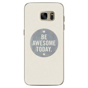 Plastové pouzdro iSaprio Awesome 02 na mobil Samsung Galaxy S7 Edge