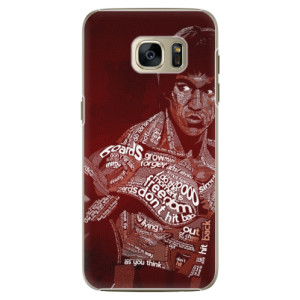 Plastové pouzdro iSaprio Bruce Lee na mobil Samsung Galaxy S7 Edge