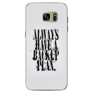 Plastové pouzdro iSaprio Backup Plan na mobil Samsung Galaxy S7 Edge