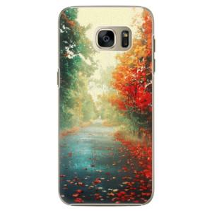 Plastové pouzdro iSaprio Autumn 03 na mobil Samsung Galaxy S7 Edge