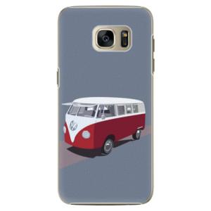 Plastové pouzdro iSaprio VW Bus na mobil Samsung Galaxy S7 Edge