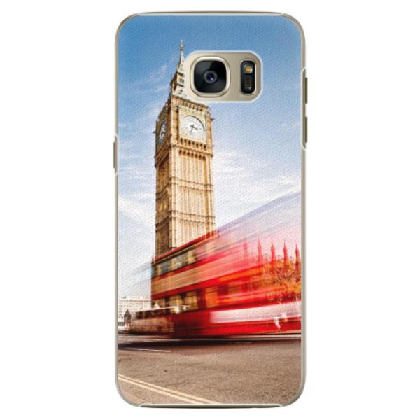 Plastové pouzdro iSaprio London 01 na mobil Samsung Galaxy S7 Edge (Plastový obal, kryt, pouzdro iSaprio London 01 na mobilní telefon Samsung Galaxy S7 Edge)