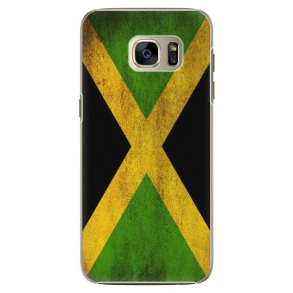 Plastové pouzdro iSaprio Flag of Jamaica na mobil Samsung Galaxy S7 Edge (Plastový obal, kryt, pouzdro iSaprio Flag of Jamaica na mobilní telefon Samsung Galaxy S7 Edge)