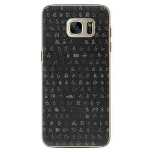 Plastové pouzdro iSaprio Ampersand 01 na mobil Samsung Galaxy S7 Edge
