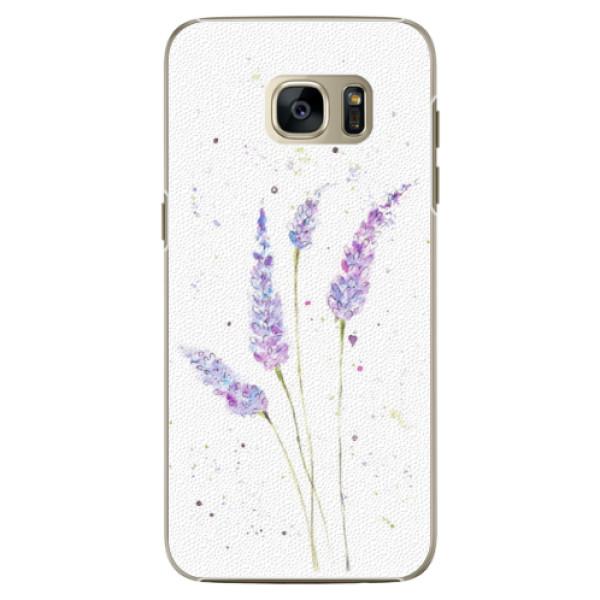 Plastové pouzdro iSaprio Lavender na mobil Samsung Galaxy S7 Edge (Plastový obal, kryt, pouzdro iSaprio Lavender na mobilní telefon Samsung Galaxy S7 Edge)