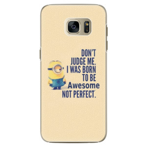 Plastové pouzdro iSaprio Be Awesome na mobil Samsung Galaxy S7 Edge