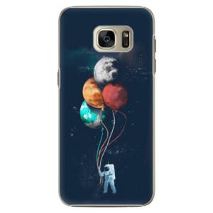 Plastové pouzdro iSaprio Balloons 02 na mobil Samsung Galaxy S7 Edge