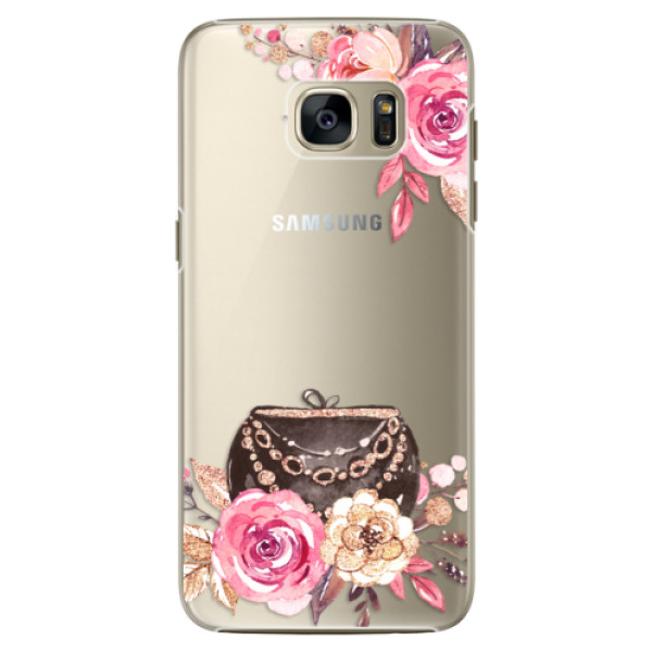 Plastové pouzdro iSaprio Handbag 01 na mobil Samsung Galaxy S7 Edge (Plastový obal, kryt, pouzdro iSaprio Handbag 01 na mobilní telefon Samsung Galaxy S7 Edge)
