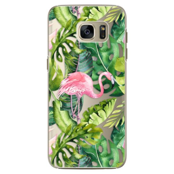Plastové pouzdro iSaprio Jungle 02 na mobil Samsung Galaxy S7 Edge (Plastový obal, kryt, pouzdro iSaprio Jungle 02 na mobilní telefon Samsung Galaxy S7 Edge)