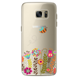 Plastové pouzdro iSaprio Bee 01 na mobil Samsung Galaxy S7 Edge