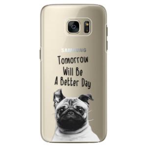 Plastové pouzdro iSaprio Better Day 01 na mobil Samsung Galaxy S7 Edge