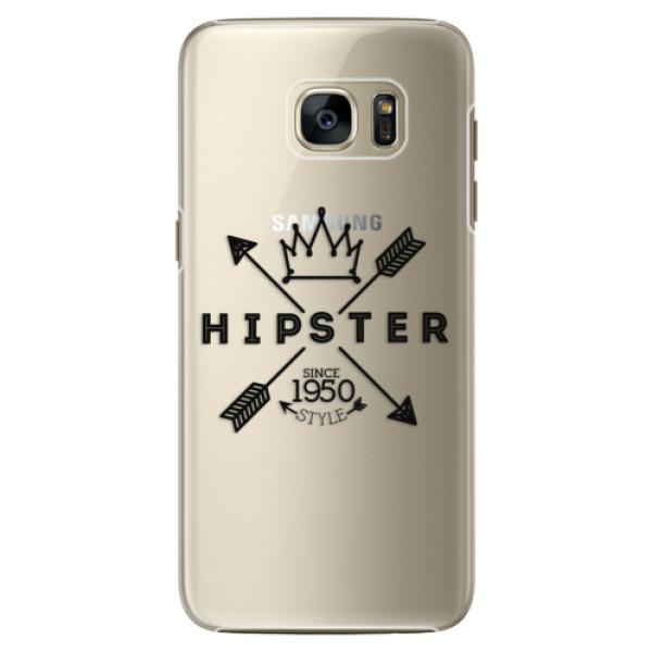 Plastové pouzdro iSaprio Hipster Style 02 na mobil Samsung Galaxy S7 Edge (Plastový obal, kryt, pouzdro iSaprio Hipster Style 02 na mobilní telefon Samsung Galaxy S7 Edge)