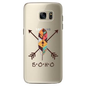 Plastové pouzdro iSaprio BOHO na mobil Samsung Galaxy S7 Edge
