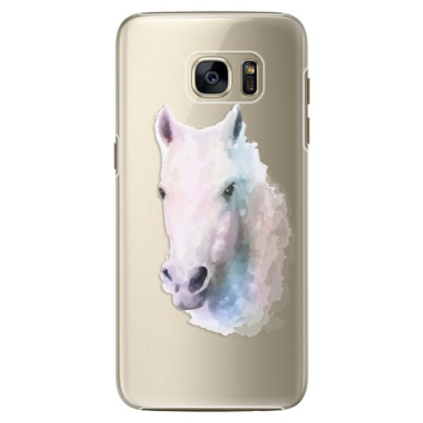 Plastové pouzdro iSaprio Horse 01 na mobil Samsung Galaxy S7 Edge (Plastový obal, kryt, pouzdro iSaprio Horse 01 na mobilní telefon Samsung Galaxy S7 Edge)