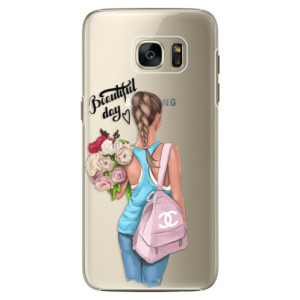 Plastové pouzdro iSaprio Beautiful Day na mobil Samsung Galaxy S7 Edge