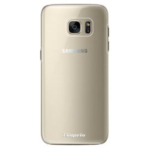 Plastové pouzdro iSaprio 4Pure mléčné bez potisku na mobil Samsung Galaxy S7 Edge