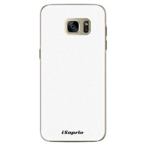 Plastové pouzdro iSaprio 4Pure bílé na mobil Samsung Galaxy S7 Edge